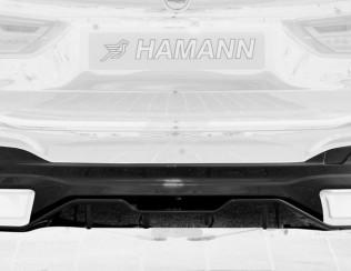 "Диффузор заднего бампера в стиле ""Sportivo"" от Hamann для BMW 5-series G30/G31"