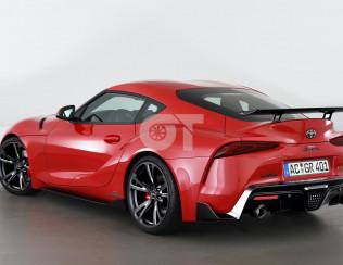 Спойлер крышки багажника AC Schnitzer Racing для Toyota GR Supra