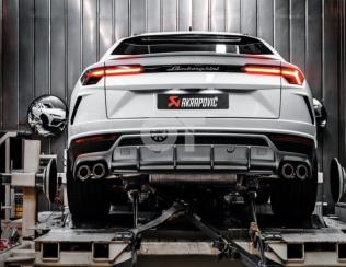 Выхлопная система Akrapovic для Lamborghini Urus