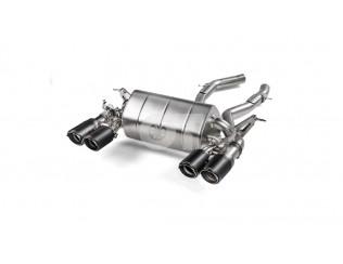 Выхлопная система Slip-On line (Titanium) AKRAPOVIC для BMW M4 F82, F83 (OPF/GPF..