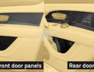 Карбоновые вставки в двери MANSORY для Bentley Bentayga