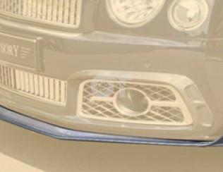 Спойлер переднего бампера Mansory для Bentley Mulsanne