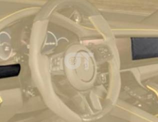 Вставки в переднюю консоль Mansory для Porsche Panamera 971