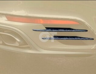 Вставки в задний бампер Mansory для Porsche 911 Turbo S