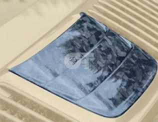 Накладка на крышку моторного отсека (центральная часть) Mansory для Porsche 911 ..