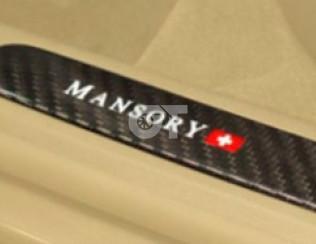 Накладки на пороги  Mansory для Porsche 911 Turbo S