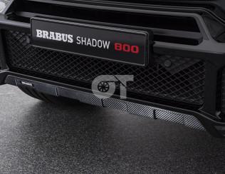 Карбоновая защита переднего бампера BRABUS для G63/G65 W463A (глянец)