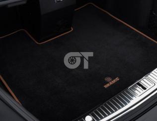 Велюровый ковер в багажник BRABUS 63/63S AMG C292