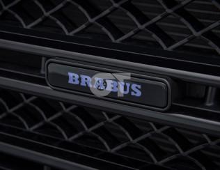 Логотип BRABUS для решетки радиатора с подсветкой для 63/63S AMG W166