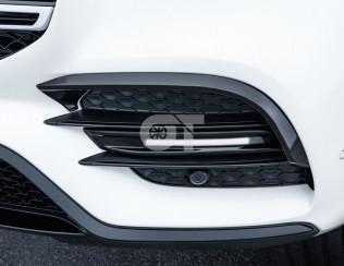 Накладки переднего бампера Brabus c LED подсветкой для Mercedes-Benz GLS - class..