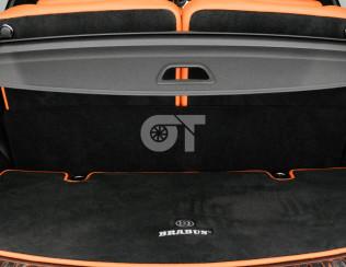 Велюровый ковер в багажник (маленький) BRABUS 63 AMG X166