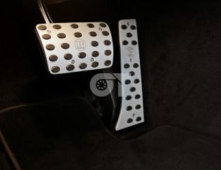 Алюминиевые накладки на педали BRABUS GT AMG C190