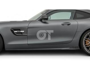Боковые накладки (глянец) BRABUS GT AMG C190