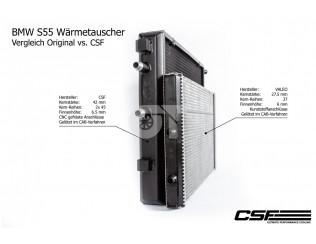 Фронтальный теплообменник CSF для BMW M3 F80 / M4 F82, F83