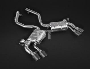 Выхлопная система с карбоновыми насадками CAPRISTO BMW X5M (F15), X6M (F16)