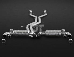 Выхлопная система Capristo для Bentley Bentayga