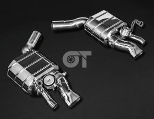 Выхлопная система Capristo для Bentley New Continental GT