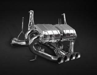 Выхлопная система с выпускными клапанами CAPRISTO Lamborghini Aventador LP700