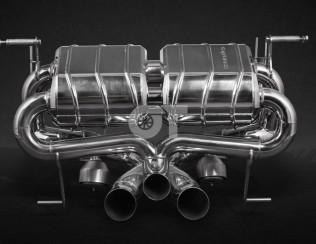 Выхлопная система с термозащитой CAPRISTO Lamborghini Aventador S LP740