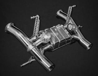 Выхлопная система CAPRISTO Lamborghini Aventador SVJ