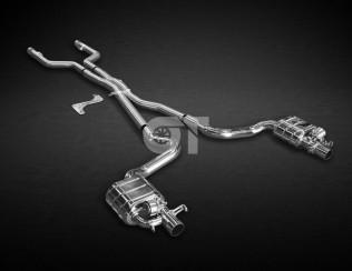 Система выхлопа CAPRISTO Mercedes C63 AMG W205