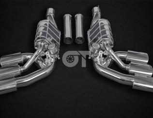 Выхлопная система 6-х канальная CAPRISTO Mercedes G63 AMG (W463A)
