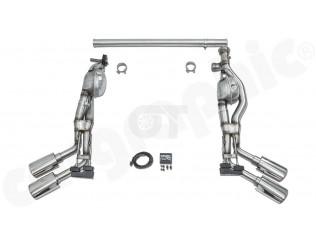 Выхлопная система Cargraphic для Mercedes Benz G350d/G400d W463A (прямые насадки..