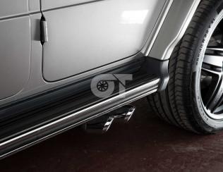 Выхлопная система Lorinser для Mercedes-Benz G500/G63 W463A