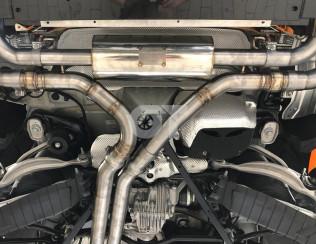 Выхлопная система Mansory для Porsche Cayenne Coupe