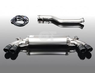 Глушитель ( с черными насадками)  AC Schnitzer для BMW 3-серии G20 / G21
