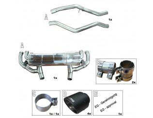 Глушитель AC Schnitzer для BMW 3-серии M340i  G20 / G21