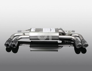 Глушитель ( с черными насадками)  AC Schnitzer для BMW 5-серии G30 / G31