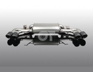 Глушитель ( с карбоновыми насадками ) AC Schnitzer для BMW 8-серии  G14 / G15