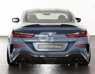Диффузор карбоновый заднего  бампера  AC Schnitzer для BMW 8-серии G14 / G15