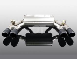 Глушитель с черными насадками   AC Schnitzer для BMW M2 F87