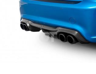 Диффузор карбоновый заднего  бампера  AC Schnitzer для BMW M2 F87