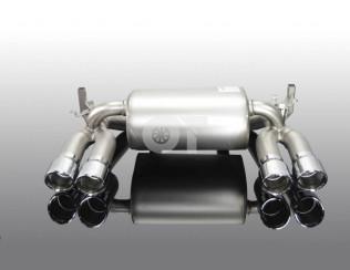 Глушитель ( с хромированными насадками ) AC Schnitzer для BMW M3 F80 / M4 F82 / ..