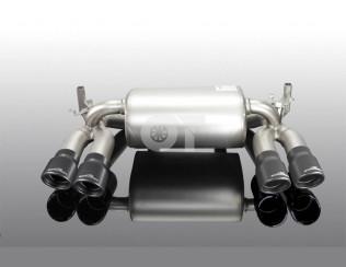 Глушитель ( с черными насадками)  AC Schnitzer BMW M3 F80 /  M4 F82 / F83