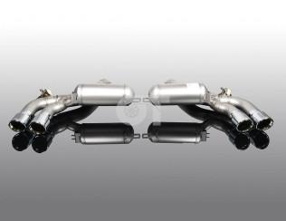 Глушитель ( с хромированными насадками ) AC Schnitzer для BMW M5 F90