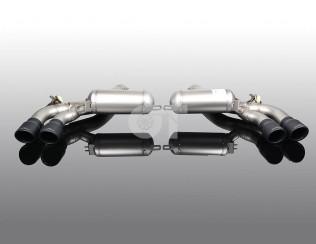 Глушитель ( с черными насадками)  AC Schnitzer  для BMW M5 F90