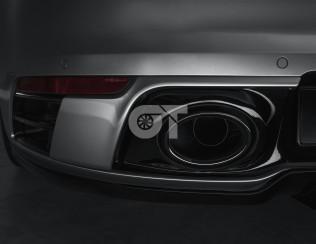 Элементы заднего бампера TechArt для Porsche 992