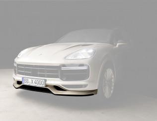 Накладка переднего бампера Techart для Porsche Cayenne Turbo E3