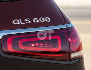 Надпись GLS 600 для Mercedes-Benz GLS X167