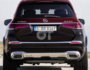 Диффузор задний Mercedes-Benz GLS Maybach X167
