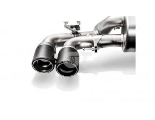 Насадки выхлопной системы Akrapovic для BMW M5 F90 (Carbon Matte)
